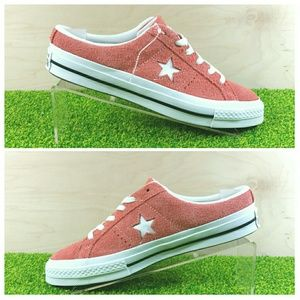 NEW Converse One Star Mule Rush Coral 162069C